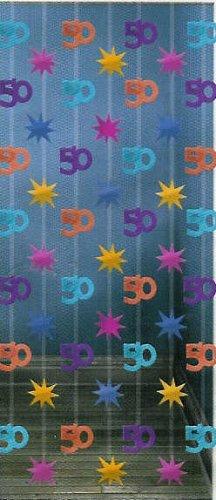 Zahlenvorhang: Zahl 50, 2 m lang, 90 cm breit - 1